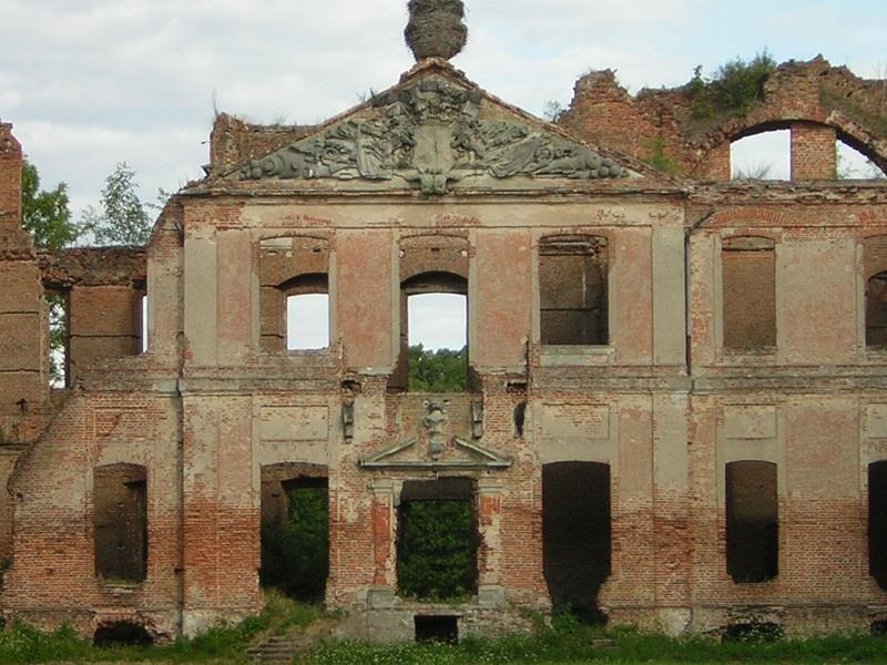 Ruiny Pałacu w Kamieńcu 1