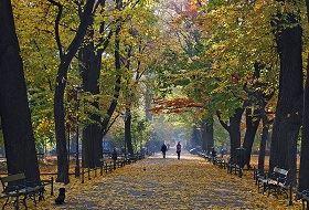 Park Planty w Krakowie
