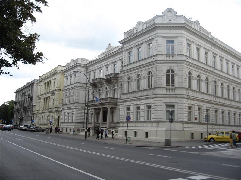 Aleje Ujazdowskie w Warszawie 1