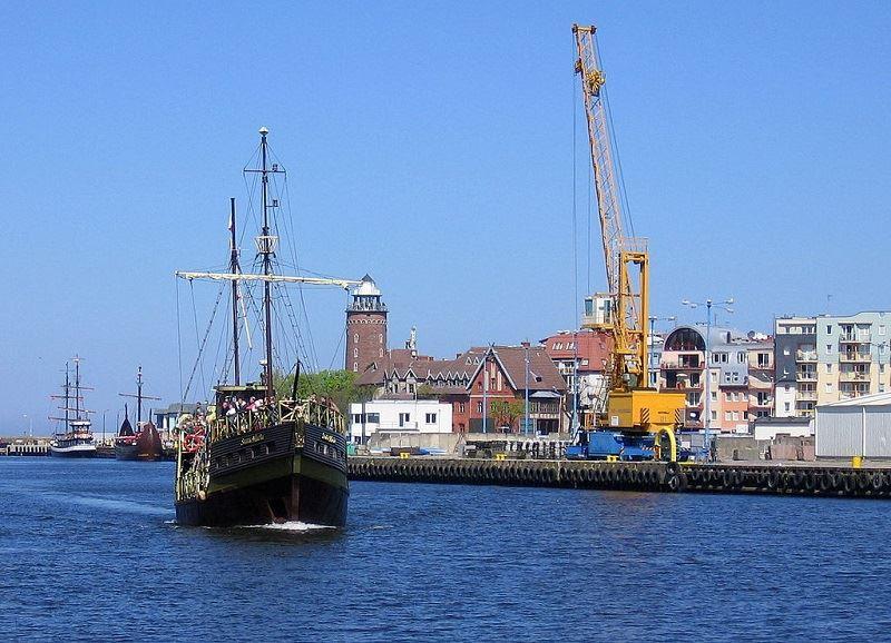 Port morski w Kołobrzegu 1