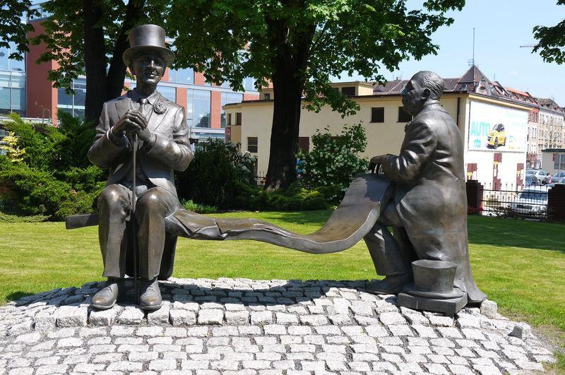 Skwer Artystów w Opolu 1