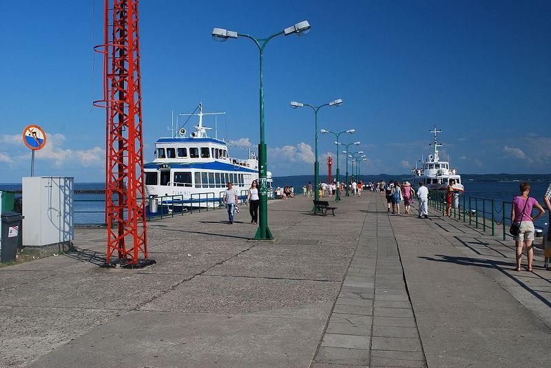 Port morski w Krynicy Morskiej 1