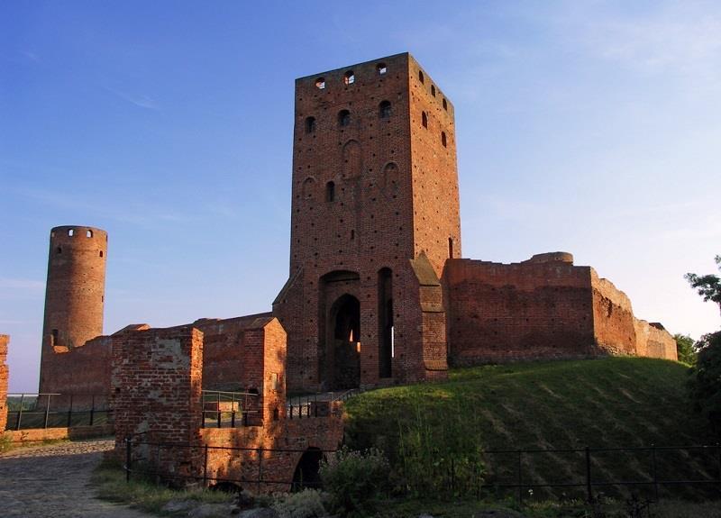 Ruiny Zamku w Czersku 1