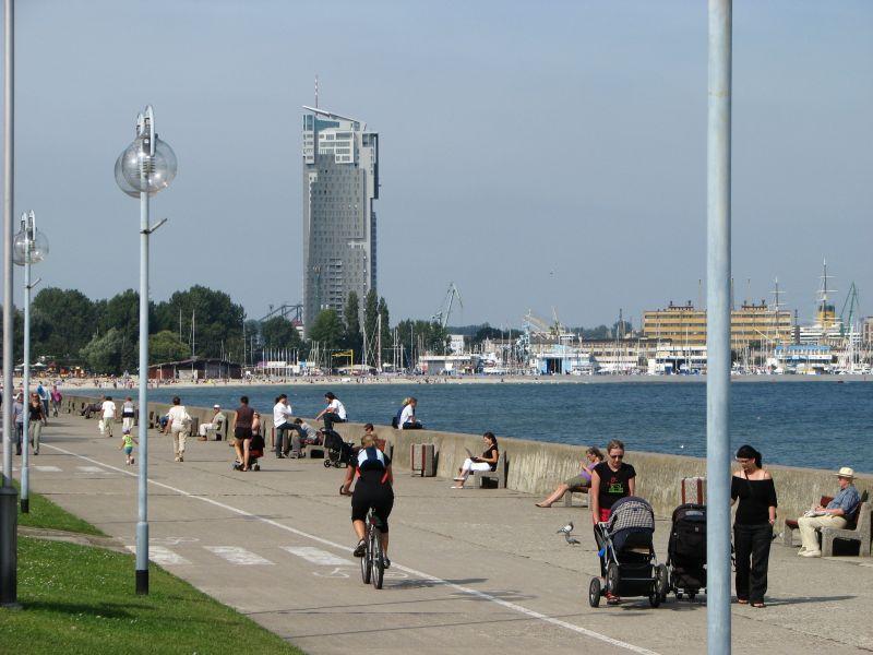 Bulwar Nadmorski w Gdyni 1