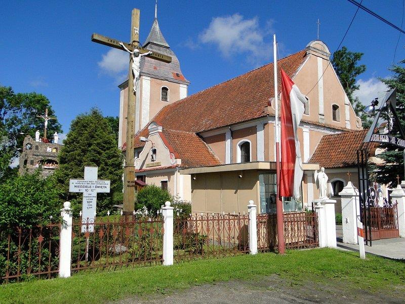 Kościół w Zielonce Pasłęckiej 1