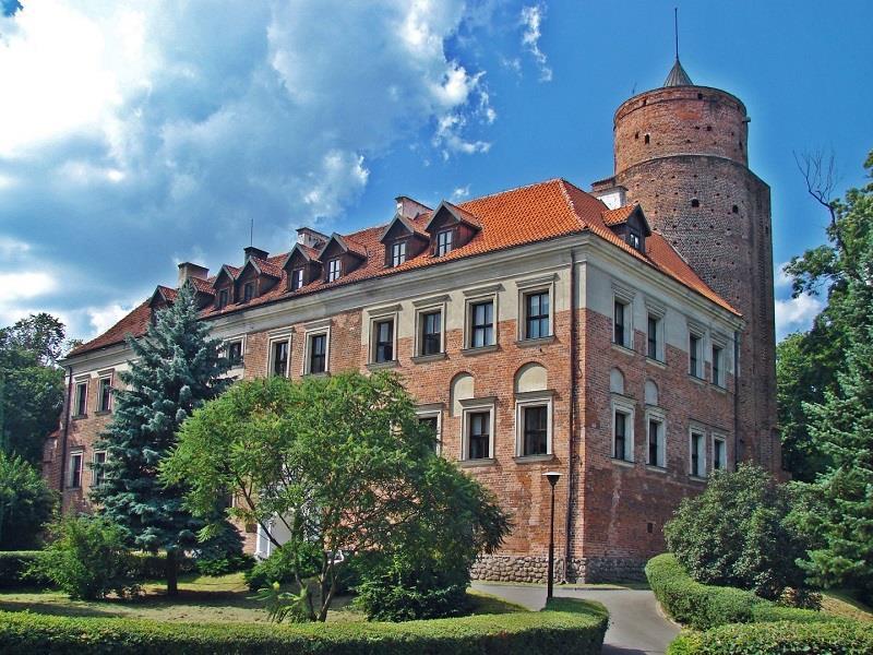 Zamek Arcybiskupi w Uniejowie 1