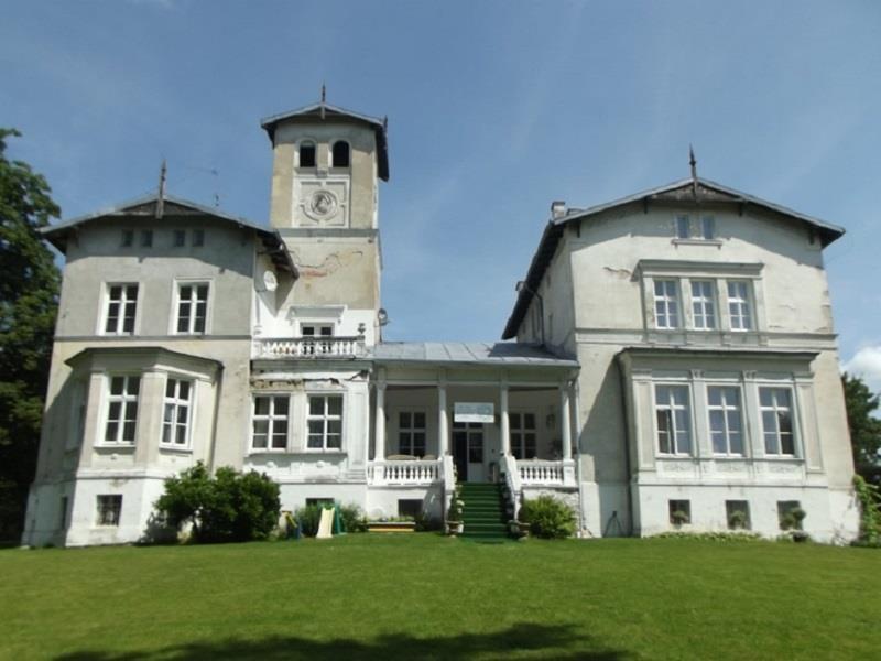 Pałac w Janowie Pomorskim 1