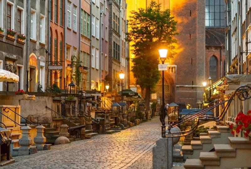 Ulica Mariacka w Gdańsku 1