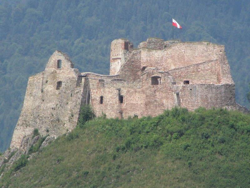 Zamek w Czorsztynie 1