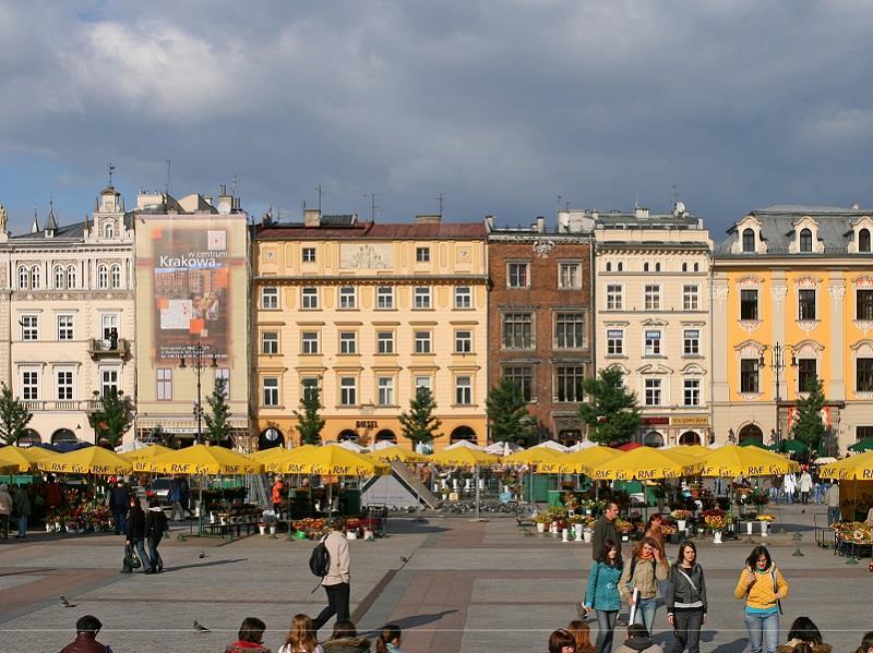 Kamienice w Krakowie 1