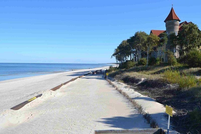 Plaża w Łebie 1