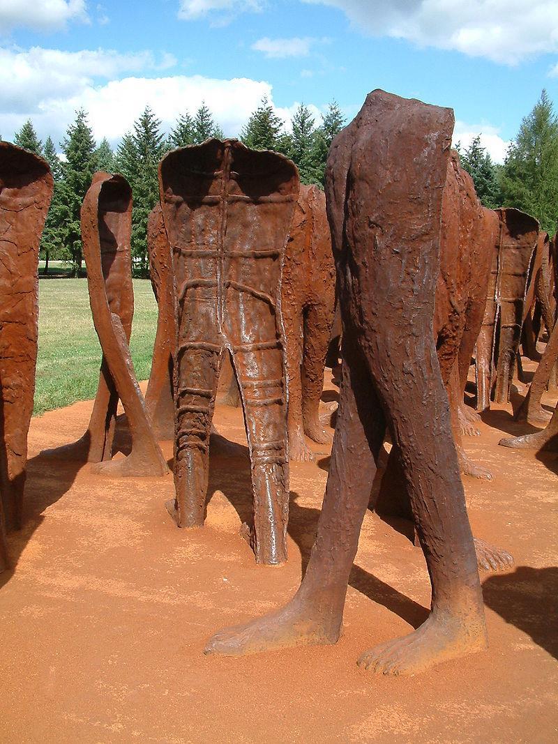 Rzeźba Plenerowa Nierozpoznani 1