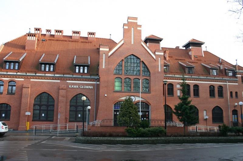 Dworzec Kolejowy w Iławie 1