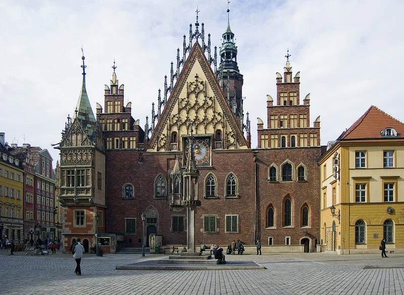 Ratusz we Wrocławiu 1