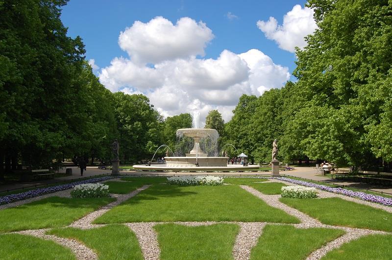 Ogród Saski w Warszawie  1