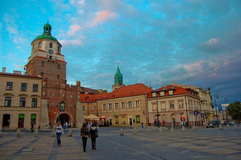 Brama Krakowska w Lublinie 1
