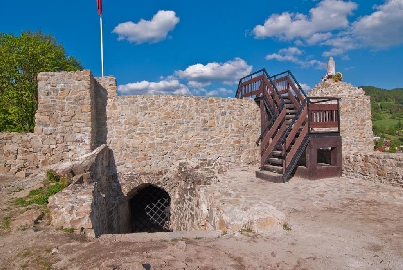 Ruiny Zamku w Muszynie 1
