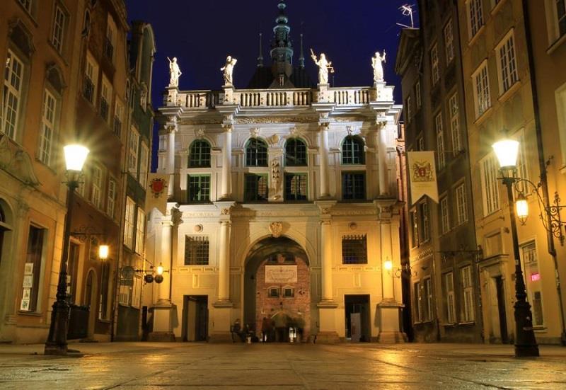 Złota Brama w Gdańsku 1