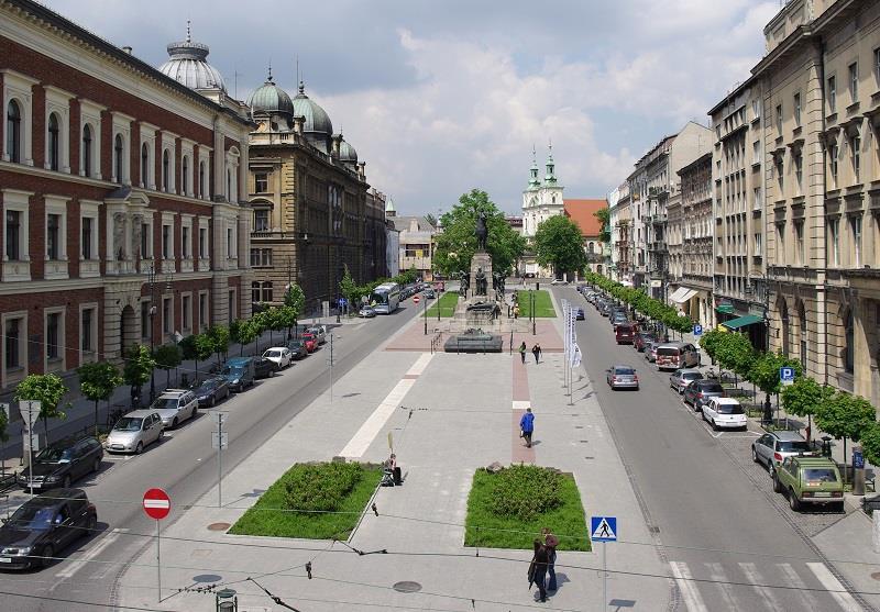Plac Matejki w Krakowie 1