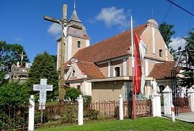 Kościół w Zielonce Pasłęckiej