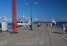 Port morski w Krynicy Morskiej