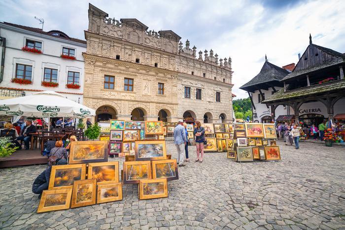Kamienice i Rynek Główny w Kazimierzu Dolnym 2