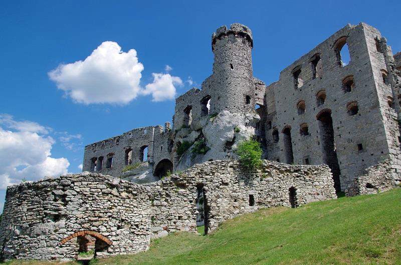 Zamek Ogrodzieniec  1