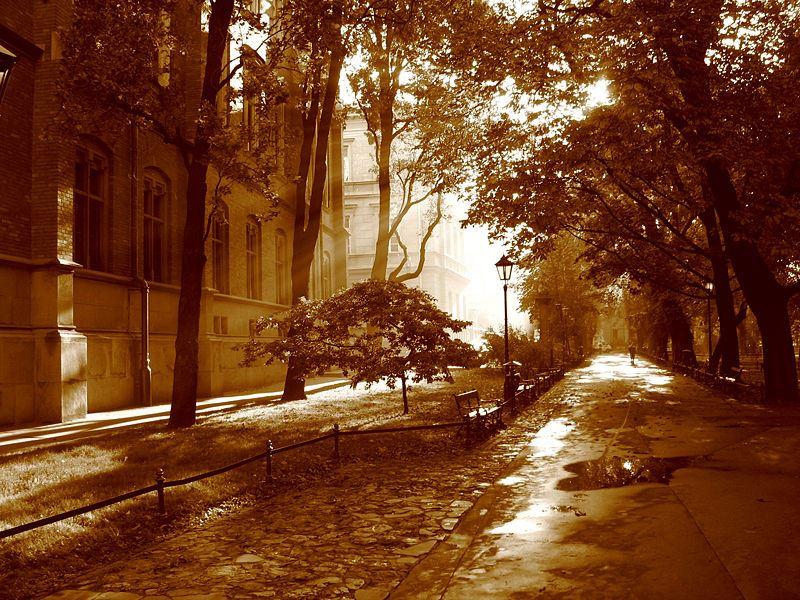 Park Planty w Krakowie 2