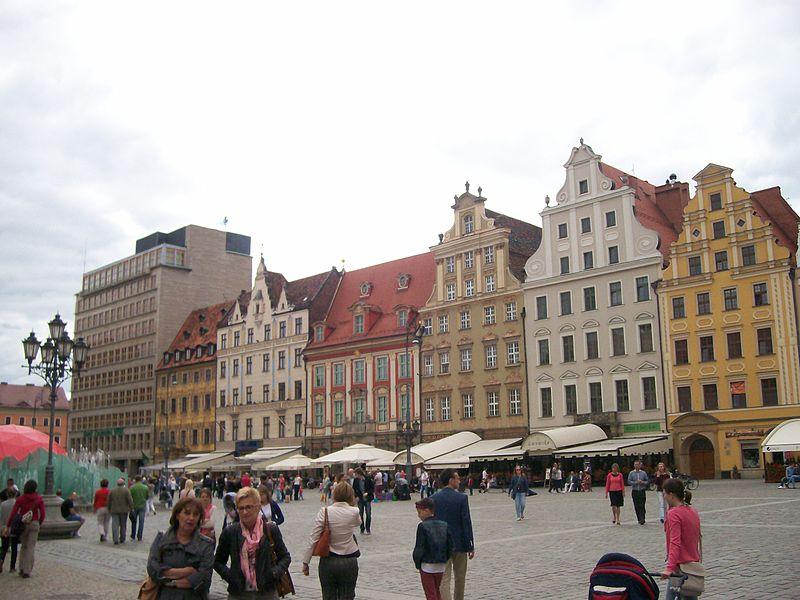 Stare Miasto we Wrocławiu  1